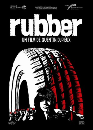 Rubber - French Movie Poster (thumbnail)