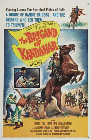 The Brigand of Kandahar - Movie Poster (thumbnail)