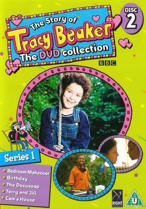 """The Story of Tracy Beaker"" - British DVD cover (thumbnail)"