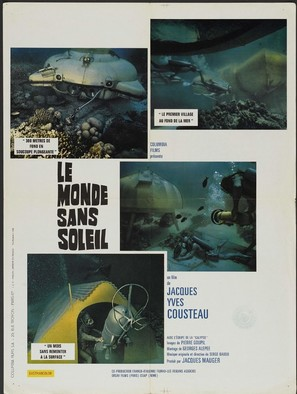 Le monde sans soleil - French Movie Poster (thumbnail)
