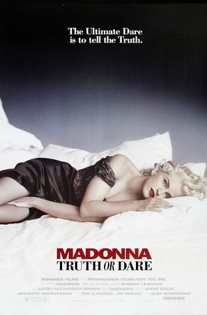 Madonna: Truth or Dare - Movie Poster (thumbnail)