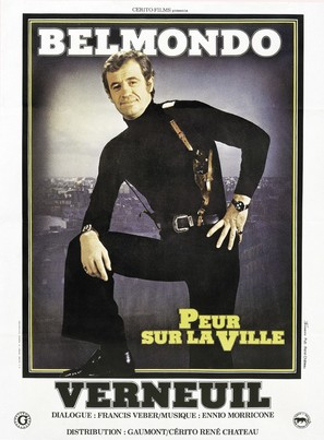 Peur sur la ville - French Movie Poster (thumbnail)