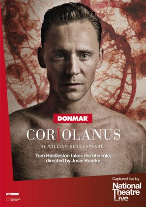 National Theatre Live: Coriolanus - British Movie Poster (thumbnail)