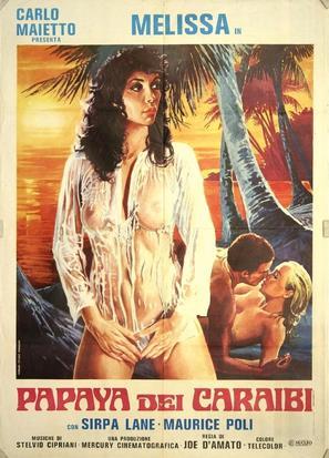 Papaya dei Caraibi - Italian Movie Poster (thumbnail)