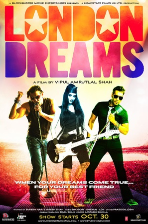 London Dreams - Indian Movie Poster (thumbnail)