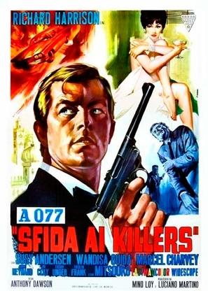 A 077, sfida ai killers - Italian Movie Poster (thumbnail)