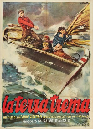 La terra trema: Episodio del mare - Italian Movie Poster (thumbnail)