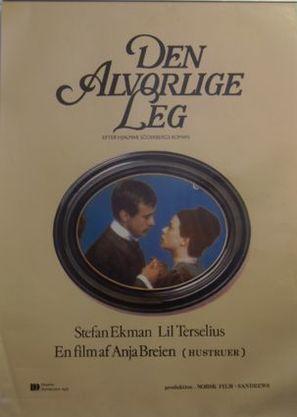 Den allvarsamma leken - Danish Movie Poster (thumbnail)