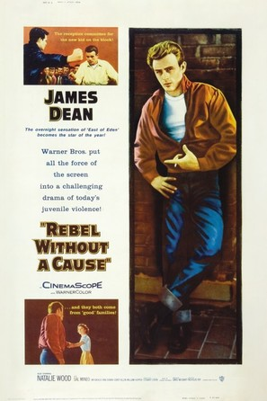 Rebel Without a Cause - Movie Poster (thumbnail)
