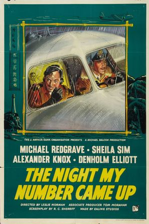 The Night My Number Came Up - British Movie Poster (thumbnail)