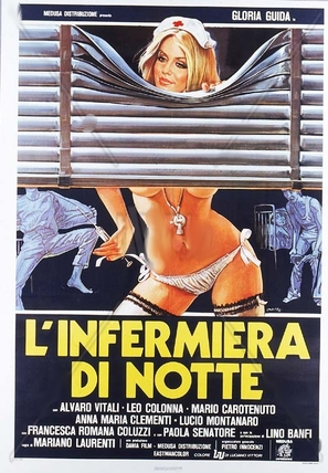 L'infermiera di notte - Italian Movie Poster (thumbnail)