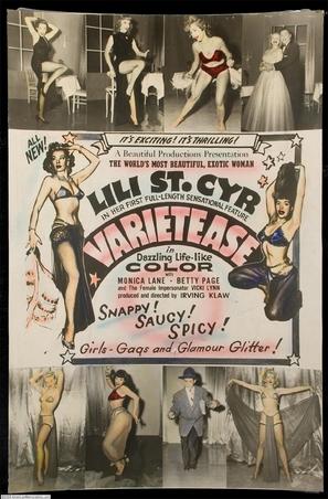 Varietease - Movie Poster (thumbnail)