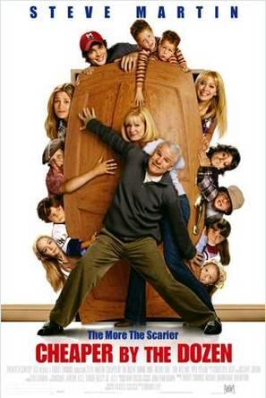 Cheaper by the Dozen - Movie Poster (thumbnail)