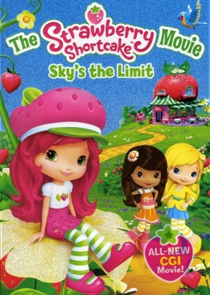 The Strawberry Shortcake Movie: Sky's the Limit - DVD movie cover (thumbnail)