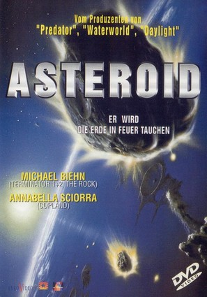 Asteroid - German Movie Cover (thumbnail)