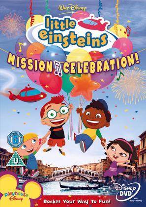 """""""Little Einsteins"""" - British DVD movie cover (thumbnail)"""