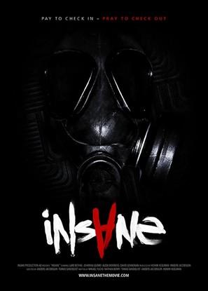 Insane - Swedish Movie Poster (thumbnail)
