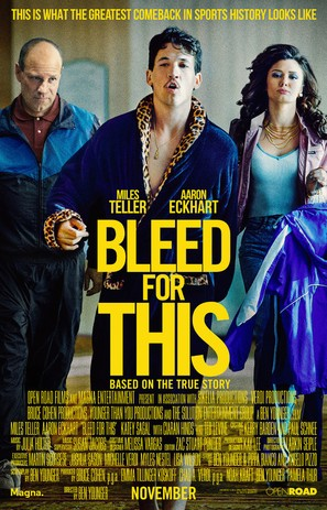 Bleed for This - Movie Poster (thumbnail)