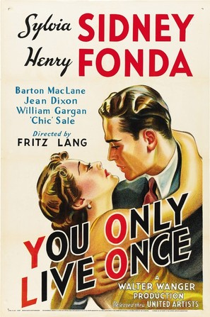 You Only Live Once - Movie Poster (thumbnail)