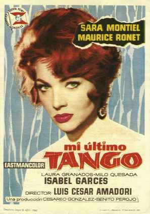 Mi último tango - Spanish Movie Poster (thumbnail)