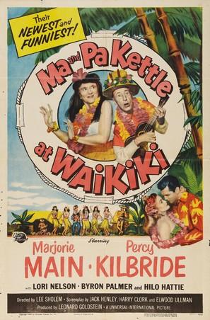 Ma and Pa Kettle at Waikiki - Movie Poster (thumbnail)