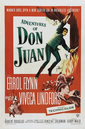 Adventures of Don Juan - Movie Poster (thumbnail)
