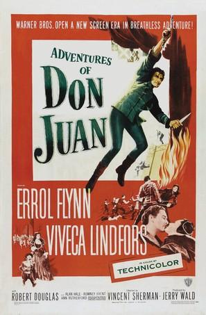 Adventures of Don Juan - Movie Poster (thumbnail)
