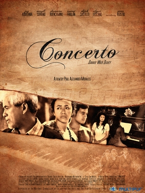 Concerto - Philippine Movie Poster (thumbnail)