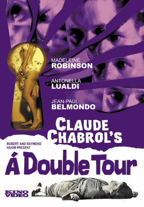À double tour - DVD movie cover (thumbnail)