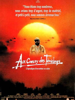 Hearts of Darkness: A Filmmaker's Apocalypse - French Movie Poster (thumbnail)