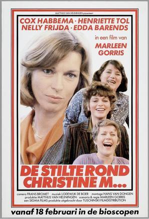 Stilte rond Christine M., De - Dutch Movie Poster (thumbnail)