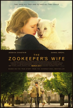The Zookeeper's Wife - Movie Poster (thumbnail)