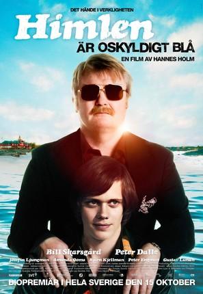 Himlen är oskyldigt blå - Swedish Movie Poster (thumbnail)