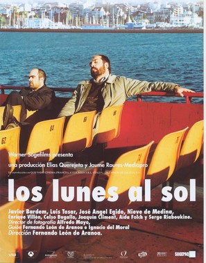 Los lunes al sol - Spanish Movie Poster (thumbnail)
