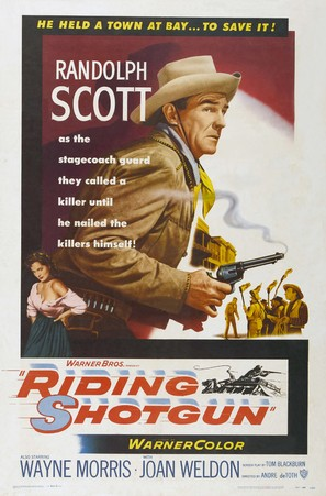 Riding Shotgun - Movie Poster (thumbnail)