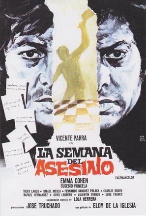 Semana del asesino, La - Spanish Movie Poster (thumbnail)