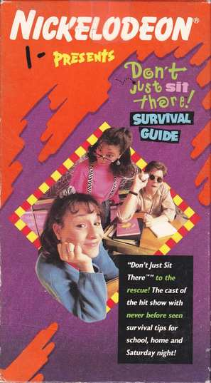 """Clarissa Explains It All"" - VHS movie cover (thumbnail)"