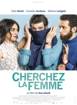 Cherchez la femme! - French Movie Poster (thumbnail)