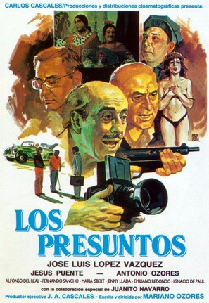 Los presuntos - Spanish Movie Poster (thumbnail)