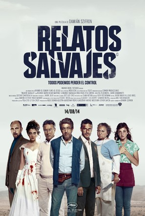 Relatos salvajes - Argentinian Movie Poster (thumbnail)