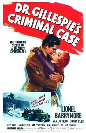 Dr. Gillespie's Criminal Case - Movie Poster (thumbnail)