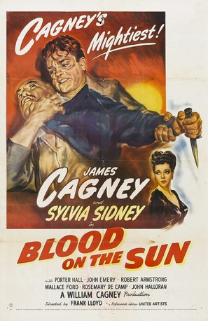Blood on the Sun - Movie Poster (thumbnail)
