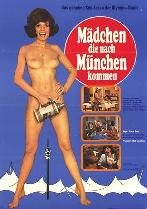 Mädchen, die nach München kommen