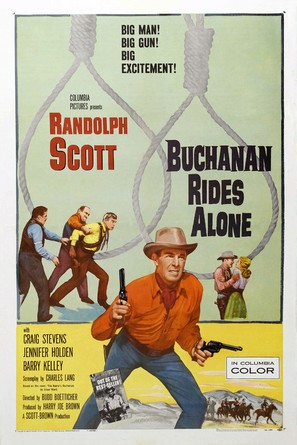 Buchanan Rides Alone - Movie Poster (thumbnail)