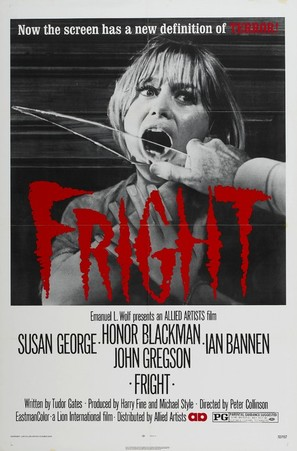 Fright - Movie Poster (thumbnail)