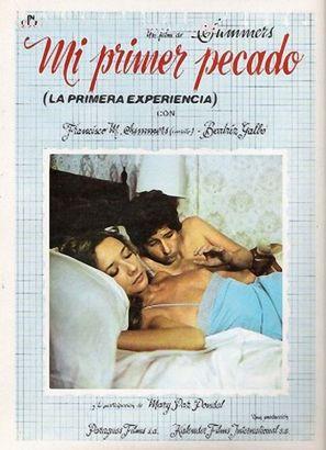 Mi primer pecado - Spanish Movie Poster (thumbnail)