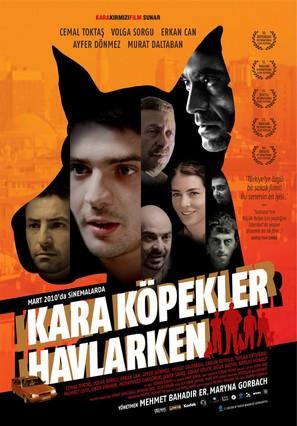 Kara köpekler havlarken - Turkish Movie Poster (thumbnail)