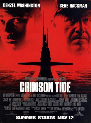 Crimson Tide - Movie Poster (thumbnail)