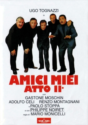 Amici miei atto II - Italian Movie Cover (thumbnail)