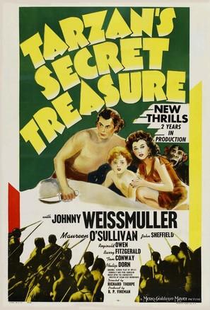 Tarzan's Secret Treasure - Movie Poster (thumbnail)